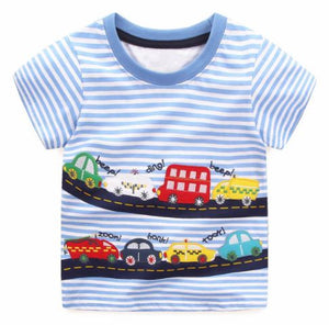 T-shirt: Car parade