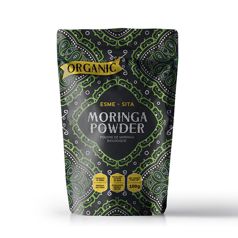 Organic Moringa Powder (Package of 2 powders)