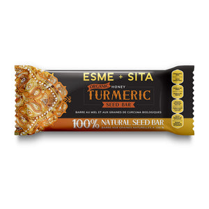 Organic Honey Turmeric Seed Bars (Package of 12)