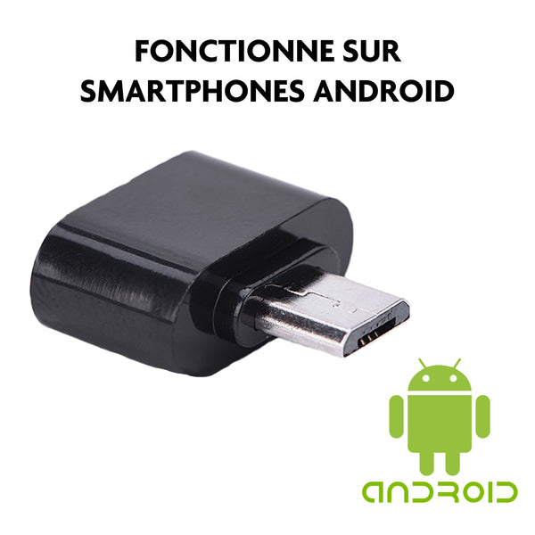 adaptateur usb android smartphone