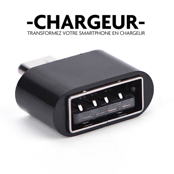 chargeur usb smartphone