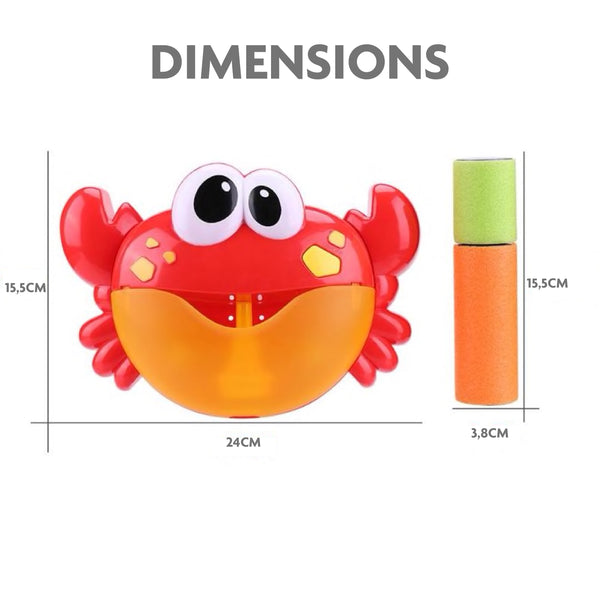 dimensions crabe