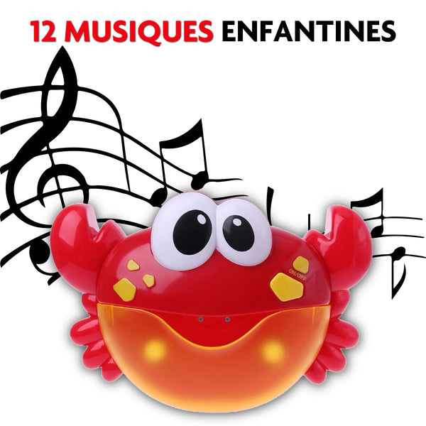 musique crabe bulle