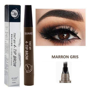 LA BOUTIQUE CHOU Marron lumineux MAGIC EYEBROW - EDITION DELUXE