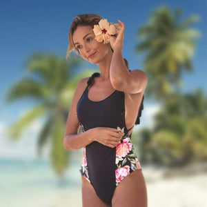 LA BOUTIQUE CHOU S SWIMSUIT FLORAL 1 pièce - Collection 2019