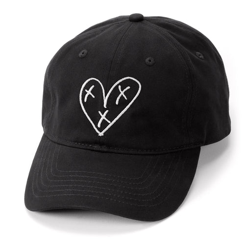 Heart Blaster Logo Dad Hat (Black)