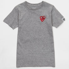 Embroidered Logo Tee (Heather Grey)