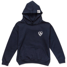 Embroidered Logo Hoodie (Navy)