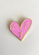 Copy of Custom Heartblaster Logo Pin (Pink and Gold)