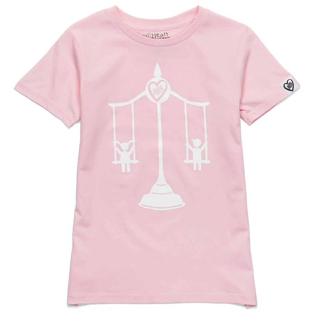Swing Scale Tee (Pink)