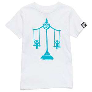 Swing Scale Tee (White)