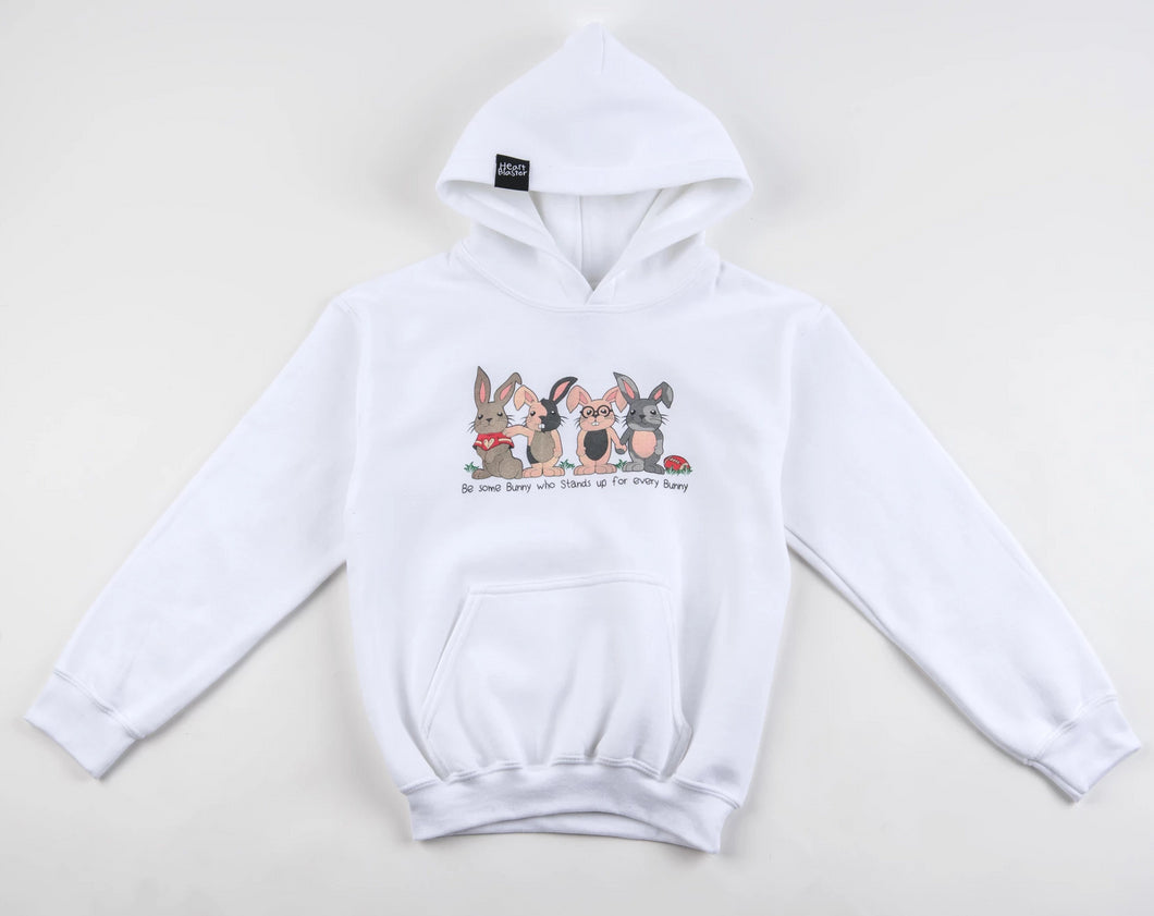 (ADULT) Be Some Bunny Great Hoodie (White)
