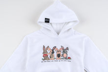 PRE-ORDER (YOUTH) Be Some Bunny Great Hoodie (White)