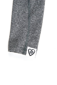Heart Blaster Logo Leggings (Steel)