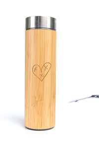 Heart Blaster Logo Reusable Water Bottle