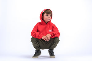 Heartblaster Logo Hoodie (Red)