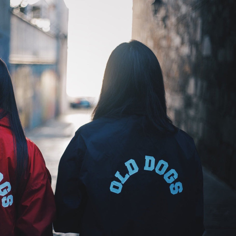 Cortavientos ODC / Negro - Old Dogs Clothing