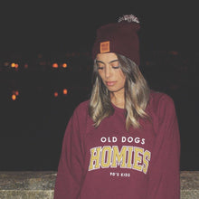 Sudadera Homies burdeos - Old Dogs Clothing