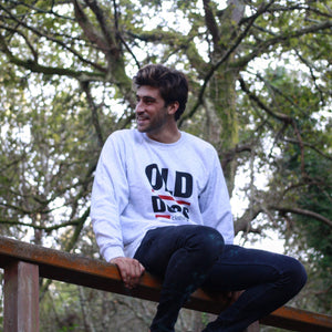 Sudadera Old Dogs clásica / Gris - Old Dogs Clothing