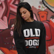 Sudadera Old Dogs clásica / Negro - Old Dogs Clothing