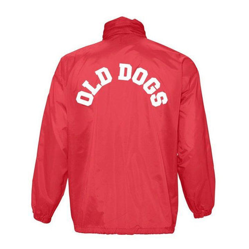 Cortavientos ODC / Rojo - Old Dogs Clothing
