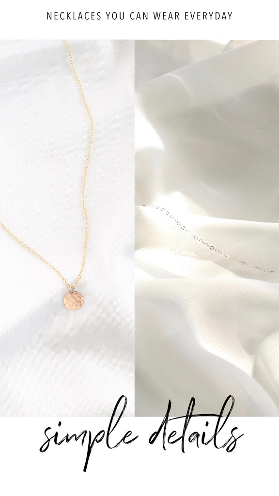Simple Everyday Necklaces | IB Jewelry