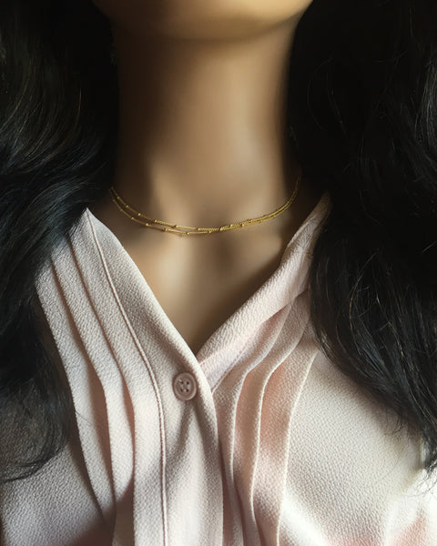 Delicate Layered Necklace