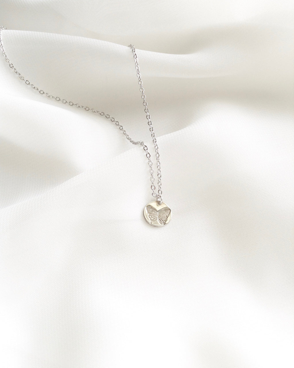 Butterfly Necklace | Small Dainty Necklace | IB Jewelry