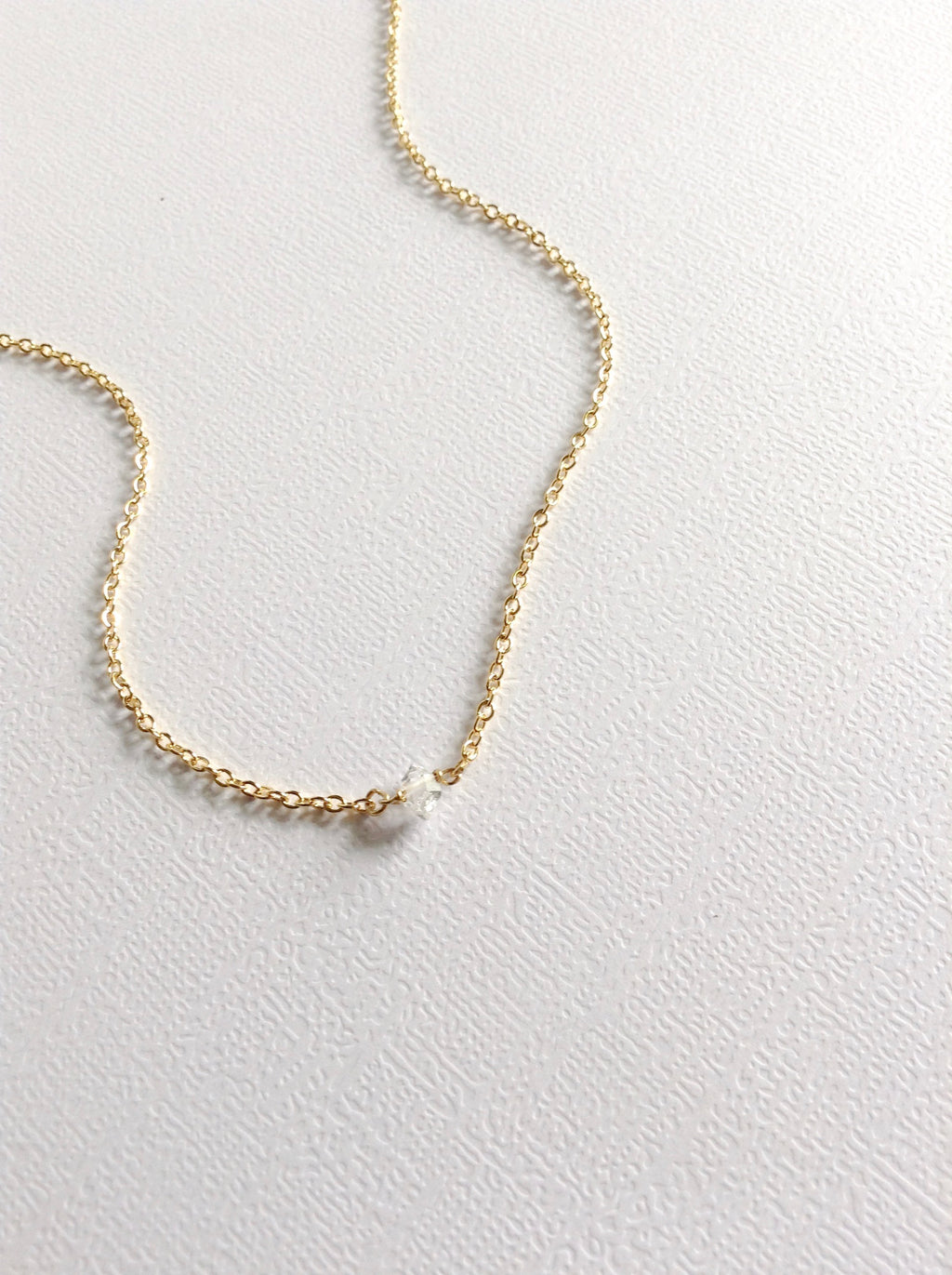 Herkimer Diamond Necklace | IB Jewelry