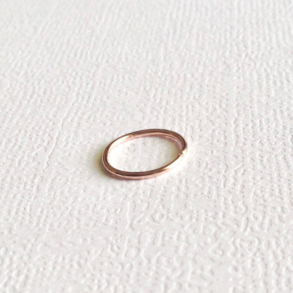 Rose Gold Filled Nose Hoop | IB Jewelry