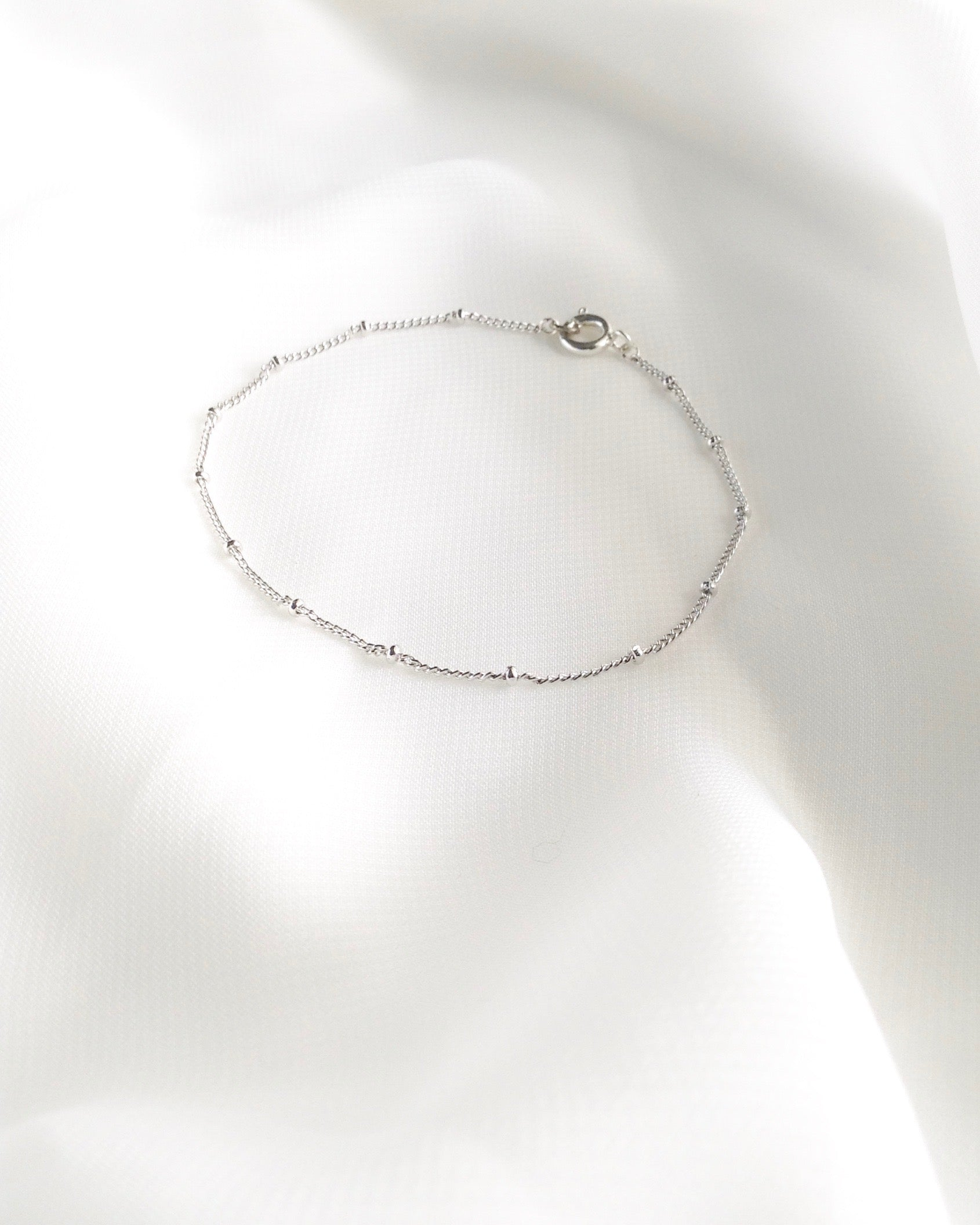 Simple Delicate Bracelet In Gold Filled or Sterling Silver | IB Jewelry