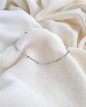 Simple Everyday Bracelet | Delicate Chain Bracelet | IB Jewelry