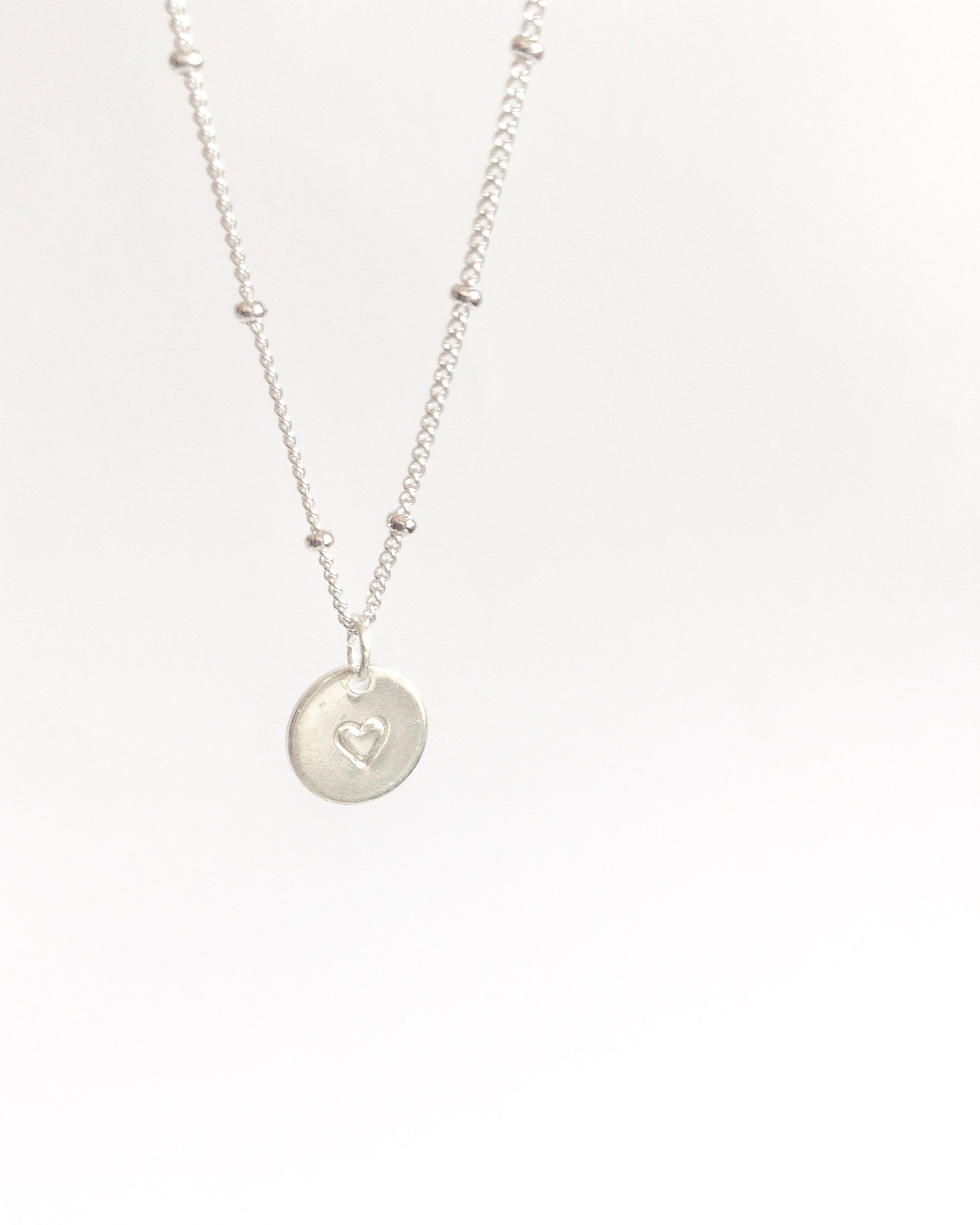 Tiny Heart Necklace Affordable Dainty Jewelry  | IB Jewelry