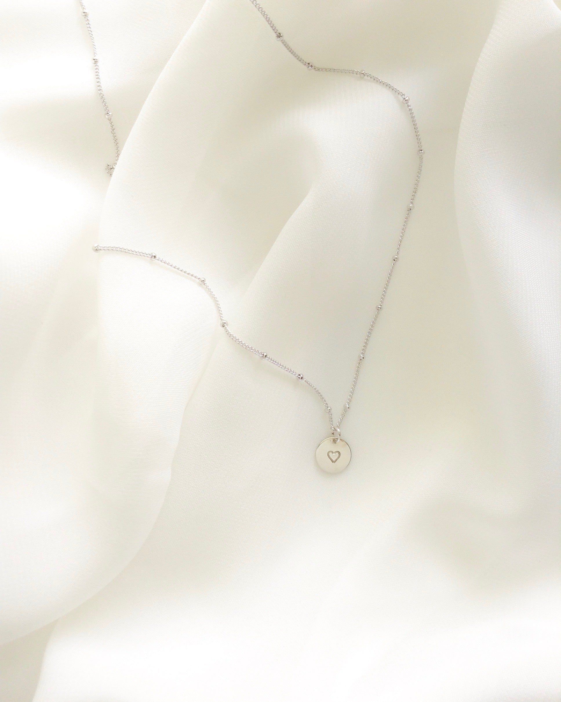 Tiny Heart Meaningful Necklace For Her | IB Jewelry