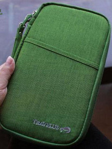 The Large Padded Travel Document Wallet