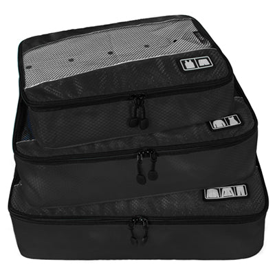 3 Piece Premium Large Packing Cubes Luggage Organizers