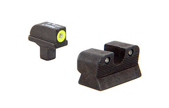 1911 Colt Cut HD Night Sight Set – Yellow Front Outline