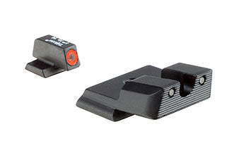 S&W M&P Shield™ HD Night Sight Set – Orange (.40, .45, and 9mm)