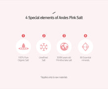 Load image into Gallery viewer, Mineral Pink Salt Deep Cleansing Foam