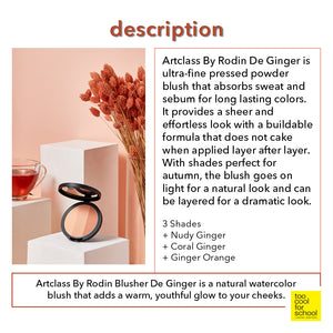 Artclass By Rodin Blusher De Ginger Orange