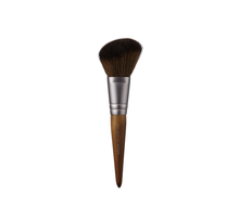 Load image into Gallery viewer, A cruelty-free makeup artist brush kit comprised of 4 essential mini-brushes in a stylish leather pouch (also cruelty-free!)