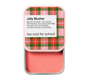 Check Jelly Blusher is a soft and marshmallow-textured creamy blush in a mini sliding tin. Nylon Beauty Award Winner 2018!