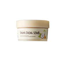 Load image into Gallery viewer, Coconut Sugar Facial Scrub is a nourishing physical facial exfoliating mask made with coconut sugar, oil, and water, for smooth and radiant skin. (3.38 oz)