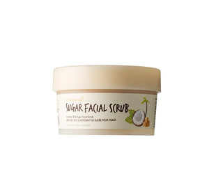 Coconut Sugar Facial Scrub is a nourishing physical facial exfoliating mask made with coconut sugar, oil, and water, for smooth and radiant skin. (3.38 oz)