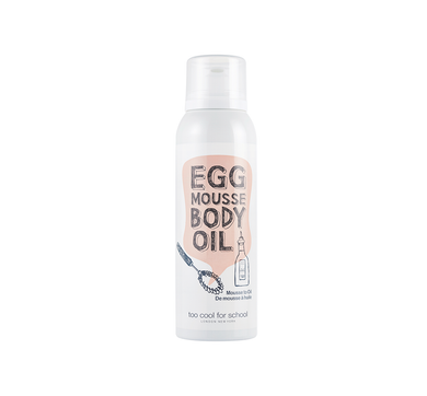 Egg Mousse Body Oil is a lightweight, whipped egg white body mousse, infused with nourishing oils and egg yolk extract, that magically transforms dull and dry skin using a hydrating oil treatment for your skin.