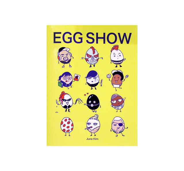 Egg Show Cartoon Book