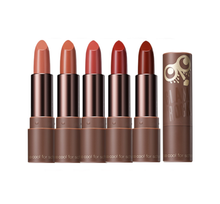 Load image into Gallery viewer, An MLBB lipstick with rich and warm shades of brown with soft and velvety matte finish.