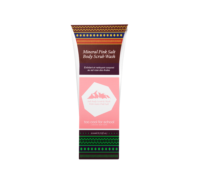 Mineral Pink Salt Body Scrub Wash