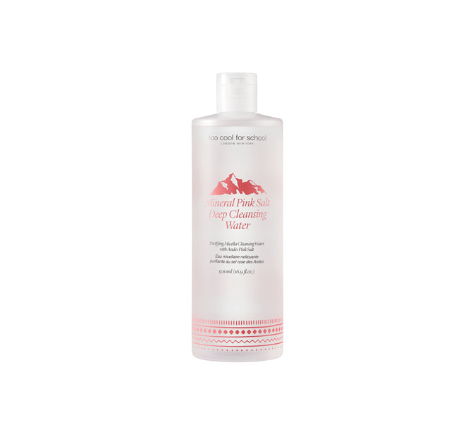 Mineral Pink Salt Deep Cleansing Water