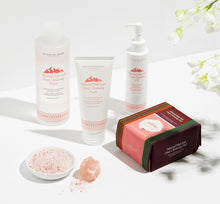 Load image into Gallery viewer, Mineral Pink Salt Deep Cleansing Set (For Dry Skin)